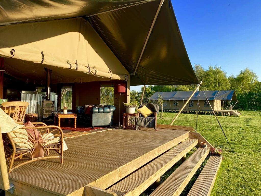 Glamping Luxury Safari Tent
