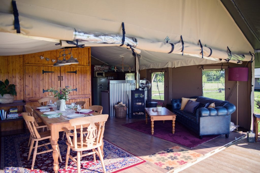 Your Stay at Meadow Field Luxury Glamping