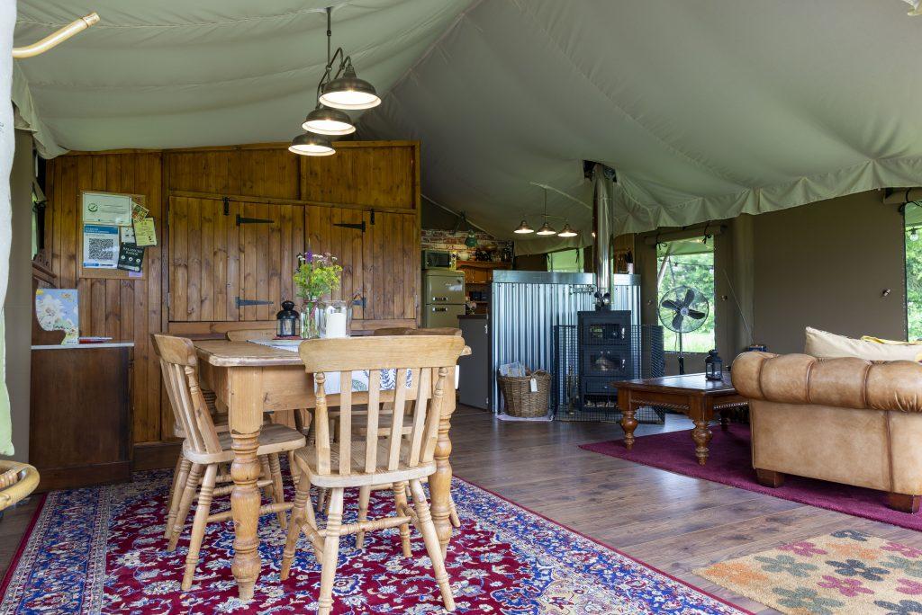 luxury safari tent celebrations