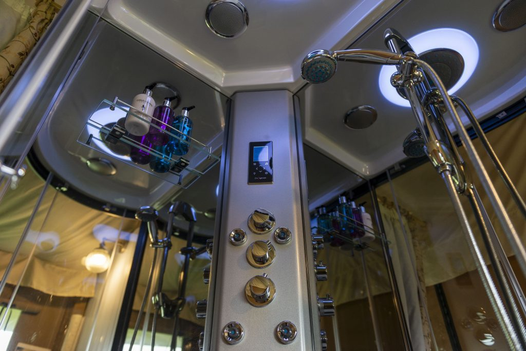 Luxury bathroom facilities